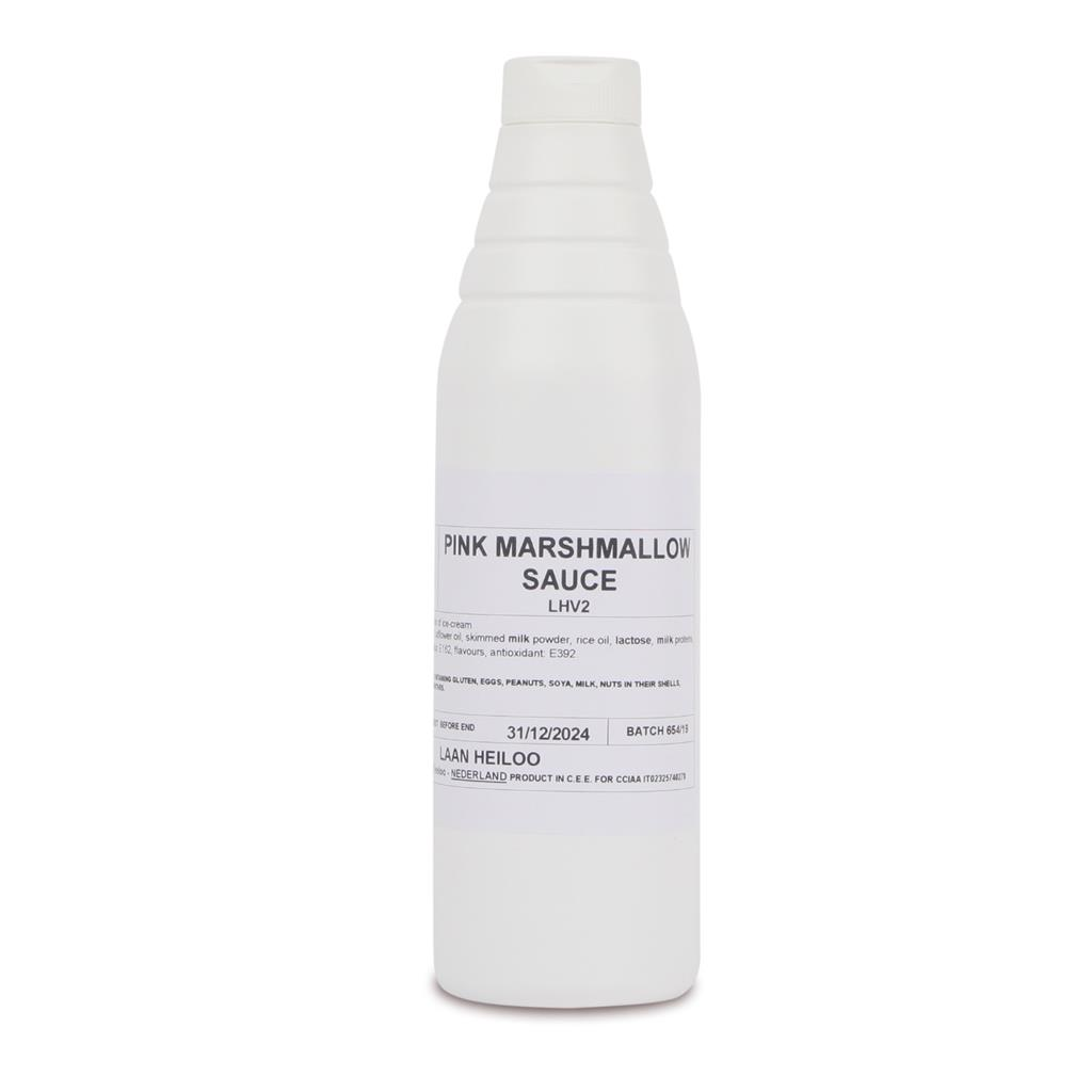 Marshmallow (roze) topping Magnifico 1,0 kg
