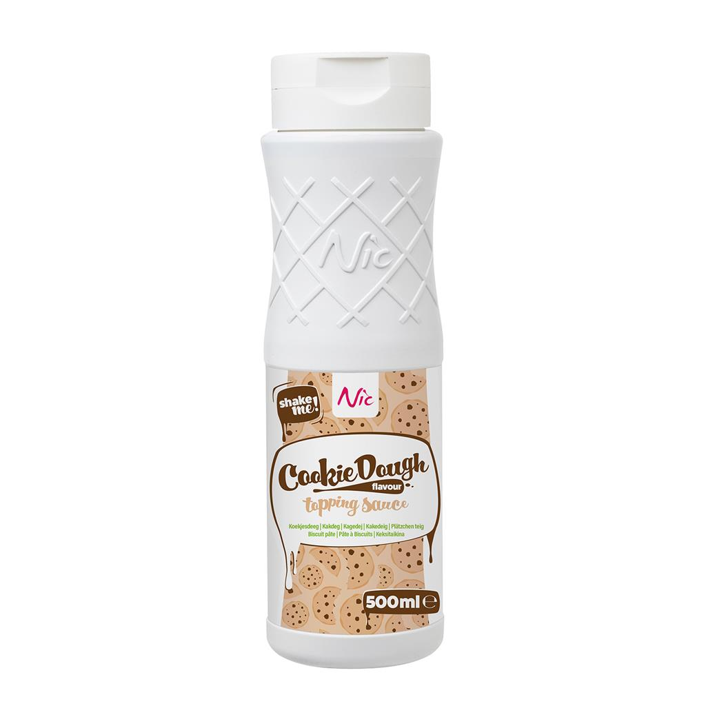 Cookie dough topping Nic 0,5 l