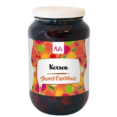Kersen fruitcocktail Nic 1,0 l